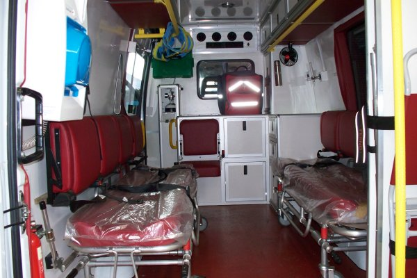 Ambulance -interior