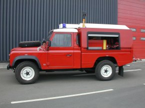 Land Rover Defender Fire Truck